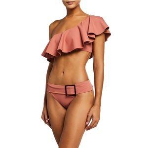 WeWoreWhat frill bikini swimsuit